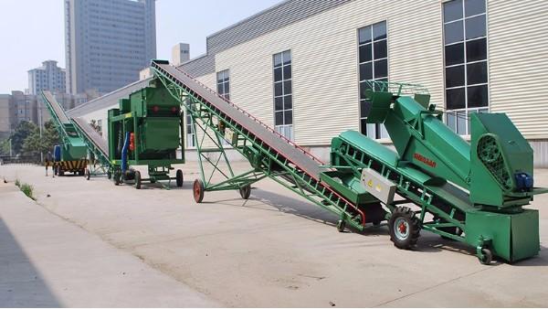 粮食皮带输送机的安装方法